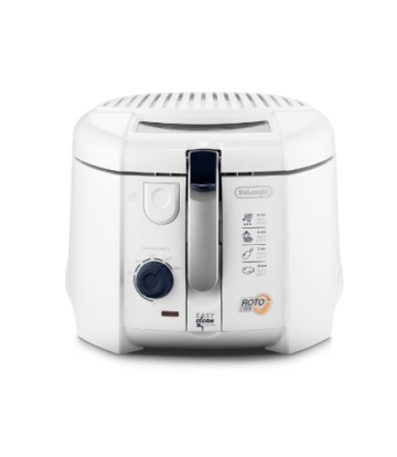 DeLonghi F 28.311.W1 Rotofritteuse, Easy Clean System, 1800 Watt - 1